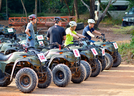 Phuket ATV Bike with Skyline Adventure