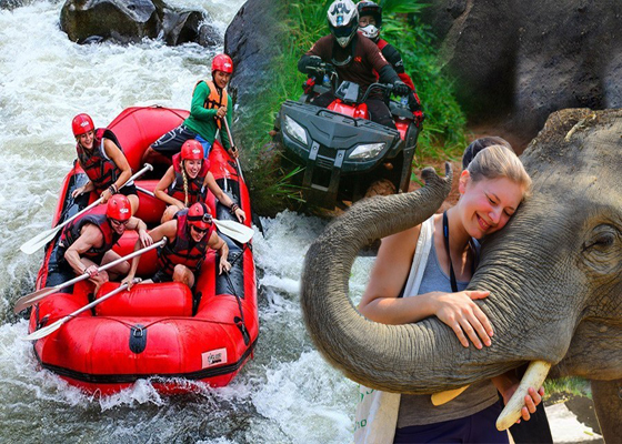 Private Whitewater Rafting Elephant Care